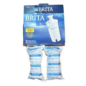 NEW Brita Water Replacement Filters 2 pc Sealed